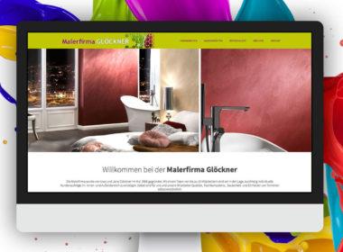 Malerfirma Uwe Glöckner - News Maho Werbeagentur Dresden