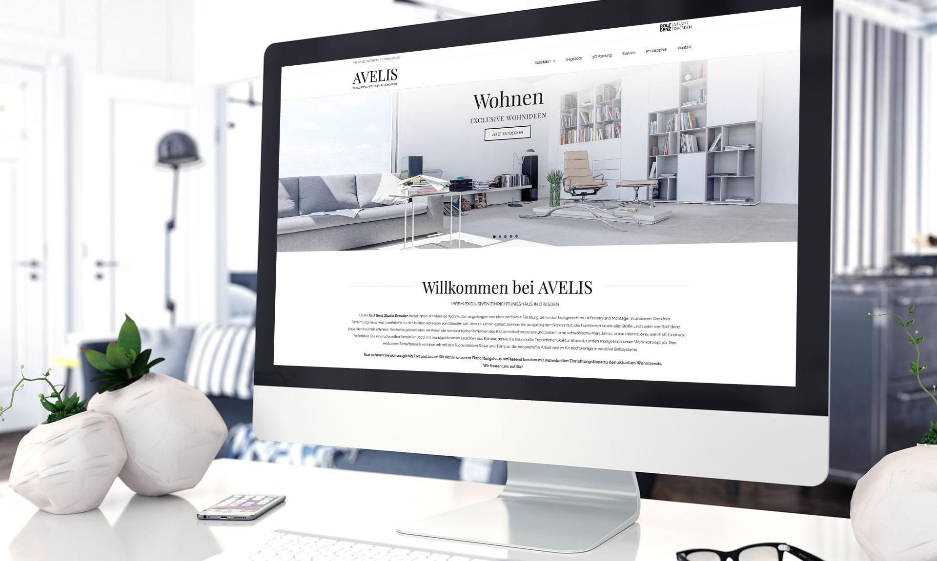 Avelis - Referenz Maho Werbeagentur Dresden