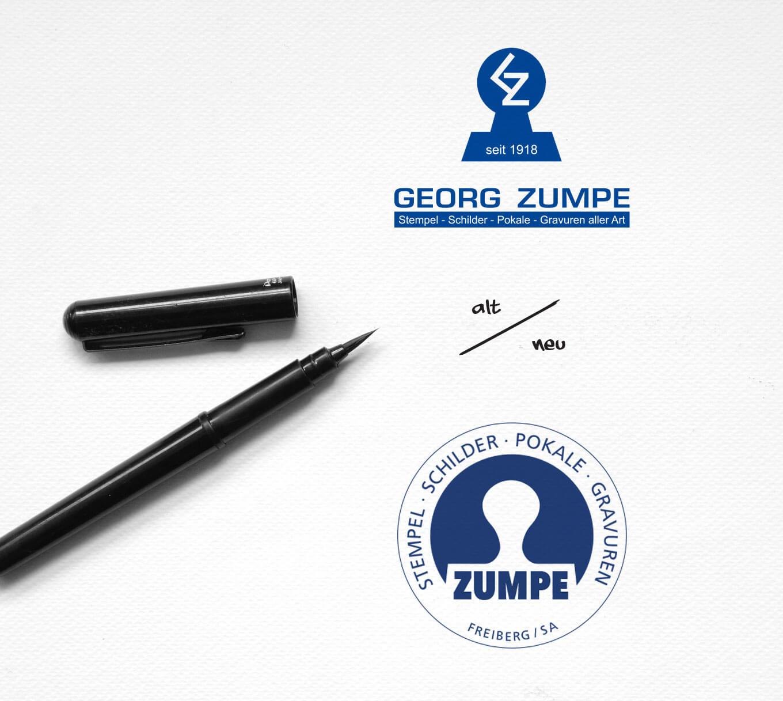Zumpe Freiberg Logo - Referenz Maho Werbeagentur Dresden