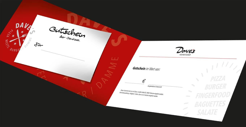 Dave's - Referenz Maho Werbeagentur Dresden