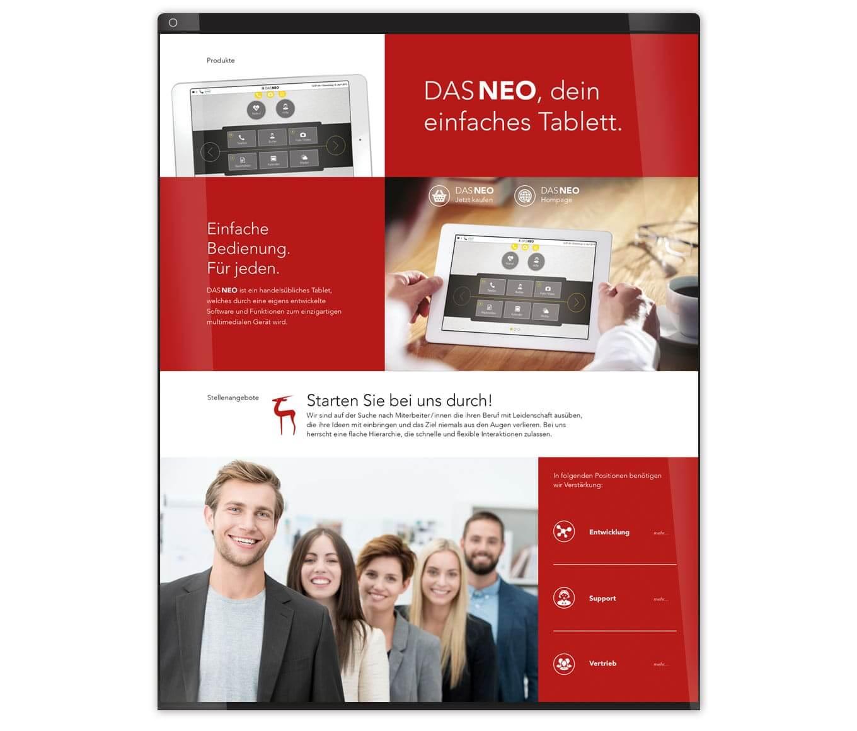 Dejawu - Referenz Maho Werbeagentur Dresden