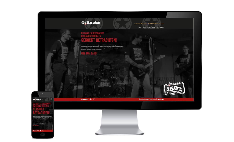 G.Rockt Webdesign- Referenz Maho Werbeagentur Dresden