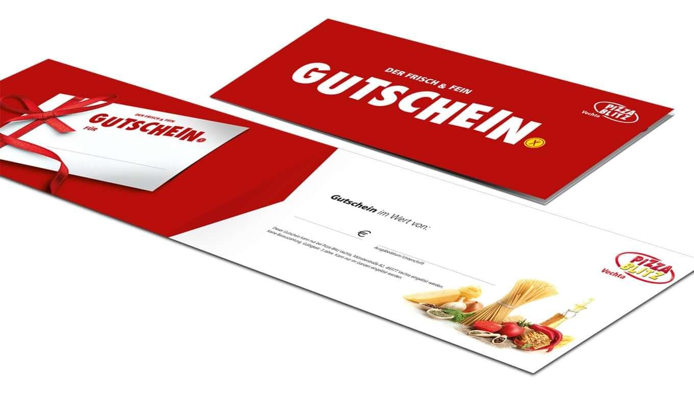 Pizza Blitz Gutschein - Referenz Maho Werbeagentur Dresden