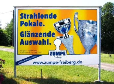 Plakat Zumpe Freiberg